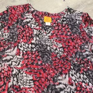 Ruby Road~~Colorful Top with Beading~~XL Petite
